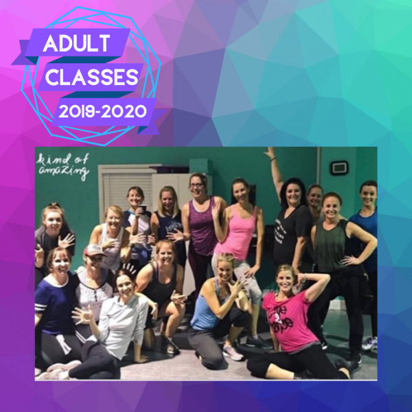 ADULT CLASSES are BACK! Register now!!